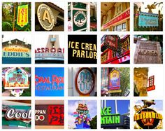 Disney Parks Signage Photo Gallery