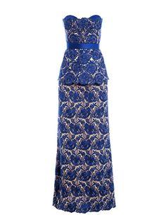 fashion, stella mccartney, wohadr790005blu, pretti dress, rebecca lace