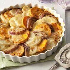 Two-Potato Gratin