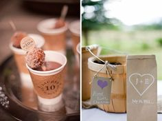 'Love is Brewing' coffee bar at the reception!