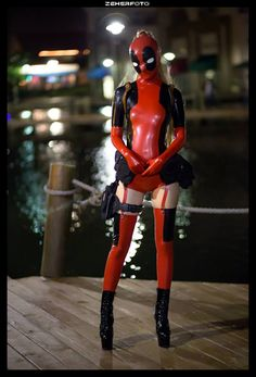 Lady Deadpool Cosplay Shoot