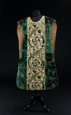 15th century Italian chasuble Baroque