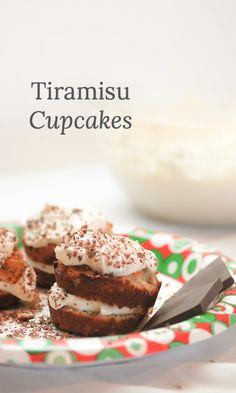 Tiramisu Cupcakes. P