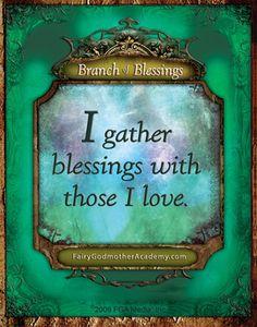 FGA Wisdom Card- Branch of Blessings - Back