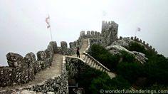 Castelo dos Mouros - Moorish Caslte, Sintra, Portugal lisbon travel, castelo dos, meus antepassado, sintra portug, dos mouro