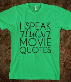 Movie quotes are my second language...or if you are my kids its quotes of Christian comedians. I think when they are quoting one is the only time they miss one another now that Bonnie's in college.
