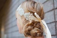 Love this bridal headband