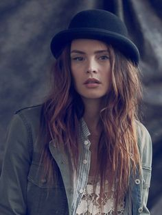 Free People Wool Felt Bowler Hat  http://www.freepeople.com/whats-new/wool-felt-bowler-hat/