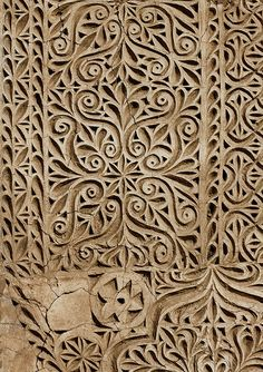 Ottoman stuc decoration - Saudi Arabia