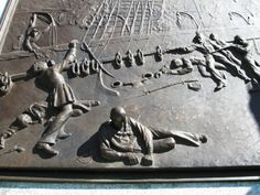One of the plaques on the Civil War monument in Penn Park in downtown York, PA.