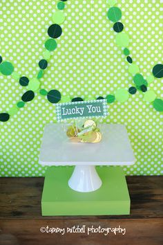 St Patricks Day Party! Such cute ideas! via www.karaspartyideas.com