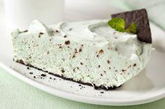 Grasshopper Pudding Pie recipe
