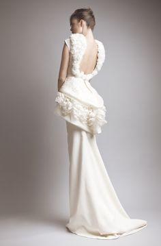 Ashi Studio Ready-to-Wear and Couture A/W 2013 Collection long dresses, moham ashi, couture, white, high fashion, gown, ashi studio, pretti, alpha fashion