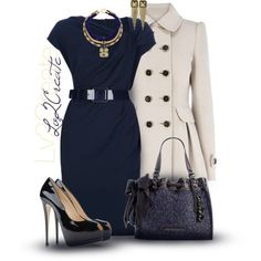 Polyvore dress outfit