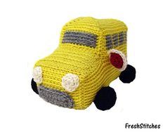 School Bus Crochet Scarf? Askives - Askives - Answers to