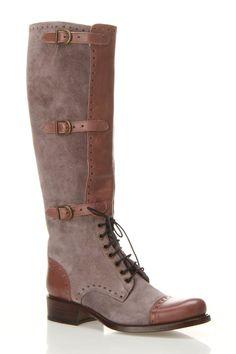 Freelance Idaho 4 Heel Boots In Gray