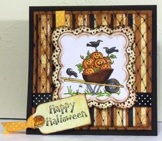 Happy halloween cards tags that inspire me pinterest