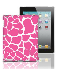 Take a look at this Pink Giraffe iPad 2 Case by Merkury Innovations on #zulily today!