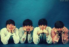 John, George, Paul and Ringo