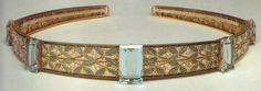 Larger image of aquamarine bandeau by Georges Fouquet - see earlier pin
