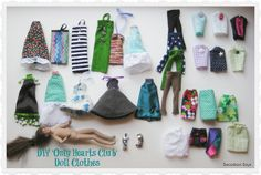 Only Hearts Club Doll Clothes by swoodsonsays, via Flickr