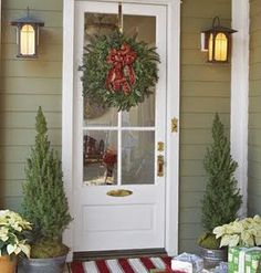 summer porch decorating ideas | Country Front Porch Decorating Ideas