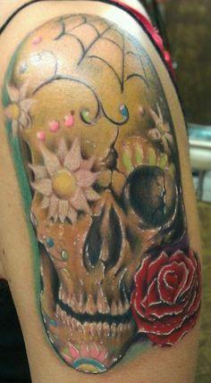 Tattoo Artist of The Day: Jesse Vickers   #tattoo #tattooed #tattoos #ink #artist #InkedMag #Inked #art #skull
