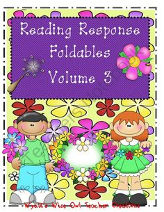 Reading Resonse Foldables Vol 3! Enter for your chance to win.  Reading Response Foldables Volume 3 (32 pages) from Mrs. Wyatt's Wise Owl Teacher Creations on TeachersNotebook.com (Ends on on 9-30-2014)  1 Lucky Winner!