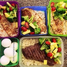 Healthy meal prepping! @ohmaebeebaby