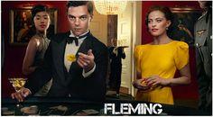 Fleming with Lara Pulver