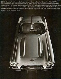 1962 Chevrolet Corvette.