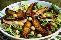 babi lettuc, salad, mushroom recipes, grill portabella, vegan baby