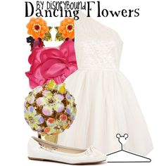 """Dancing Flowers"" by lalakay on Polyvore #disney"