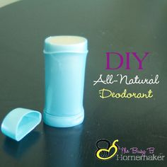 DIY All-Natural Deod