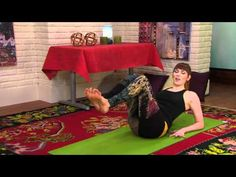 Yoga for Weight Loss Flow: 10 Minute Workout from #RockYourYoga on Veria Living featuring Sadie Nardini