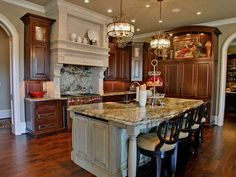 Savvy Southern Style. View 2 of this traditional kitchen.
