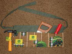 Boy's tool belt - John Deere