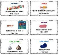 Standardized Testing Survival Kit