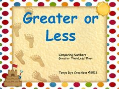 This center activity is designed for students to practice their skills with greater than, less than or equal. Students will work with 2 digit numbe...
