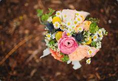 Ramo alegre y colorido :: Colourful wedding bouquet by bunch studio