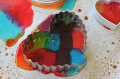 Edible Stained Glass | Activities For Children | Clay and Crafts, Cooking, Edible Activities, Rainy Day Play | Play At Home Mom