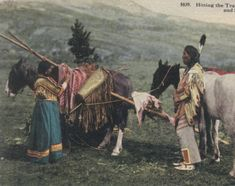 Postcard. Chief Thre