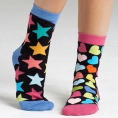 mismatched socks everyday!