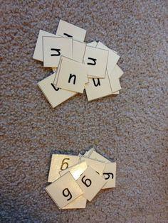 letter sorting for struggling readers