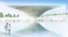 Shigeru Ban Selected to Design Mount Fuji World Heritage Center