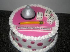 Bunco Cake
