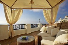 SANTORINI, Greece - Art Maisons. For more of FATHOM's most romantic hotels in Southern Europe visit http://shar.es/fVeWw.