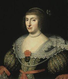 Elizabeth Stuart, Queen of Bohemia, daughter of James I, granddaughter of Mary Queen of Scots