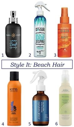 Best hair products for beach hair waves! I have #2 and I absolutely love it! It smells like coconut