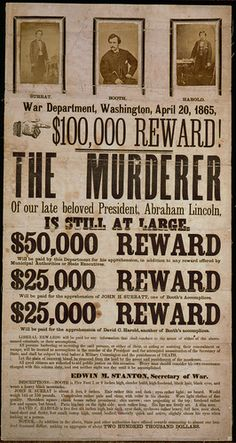 victorian poster design | Poster for BOOTH starring John Wilkes Booth and Bad Victorian Design ...